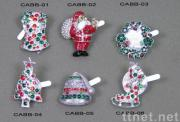 Christmas Alloy Bring Brooches
