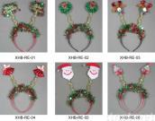 Christmas Flashing Wiggly Headbands