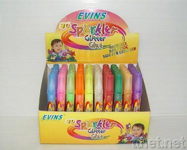 Rainbow Glitter Glue Pen