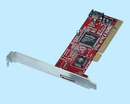 Carta Port del PCI di 2 SATA