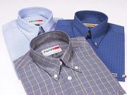 人の綿ワイシャツ