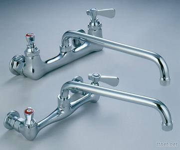 8inches Heavy and Commercial Duty Wall Mounting Faucet