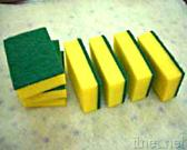 Abrasive Fiber Scouring Pad, Sponge Pad, Cleaning Cloth