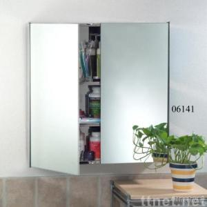 3 Tier Rectangular S.S. Wall-mounted Cabinet