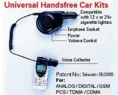 Universal Hands Free Car Kit