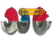 Voith Turbo flüssige Koppelung