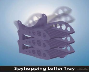 Spyhopping Letter Tray