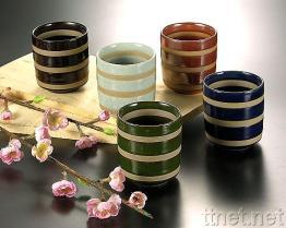 Tasses en céramique de potage
