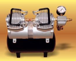 De Compressor van de lucht (met Vat)