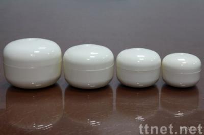 Cream Boxes Stacked-type