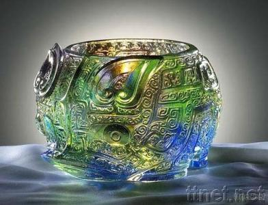 Treasure Bowl Made of Copper and Alloy