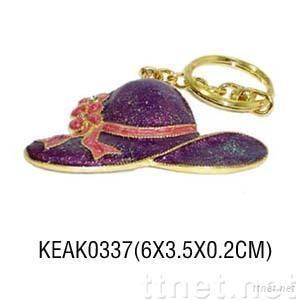 Hat Key Ring