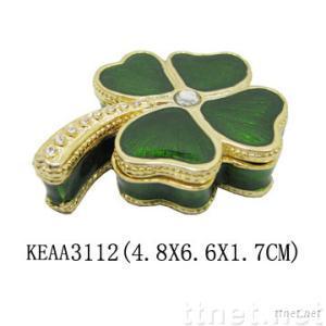 Lucky Glass Jewelry Box