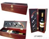 Wein-Kasten für Geschenk-Satz