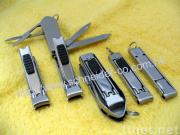 Novelty Design Nail Clipper with Safety Lock on Pusher