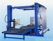 Fully Auto Pallet Stretch Wrapping Machine + Film Covering Machine