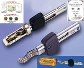 Irgendein Verschluss des Zylinders und des flexiblen Schlüssels