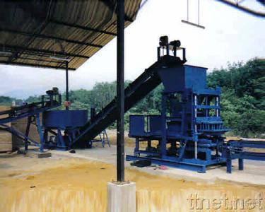Cement Brick & Block Machine