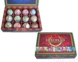 Coin Ball Gift Boxes  ( M-02 )