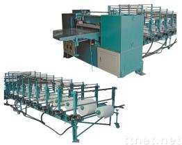 フィルター材料のための機械をプリーツをつけて機械は1つの層のために行う