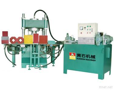 Hydraulic Press for Concrete Block