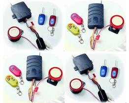 2-key Motorcycle Alarm System