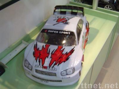 1:7 Scale R/C gas car