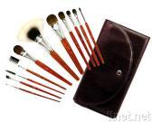 Accumulazione professionale della spazzola di trucco in serie classica del Redwood