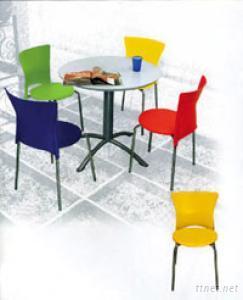 Plastic Metal Chairs