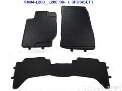 RUBBER CAR MAT FOR MITSUBISHI L200 '06-