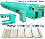 Cherng Ji - Double Layer Roofing Roll Forming Machine