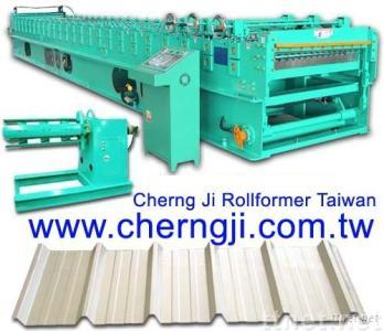 Cherng Ji - Automatic Roofing Roll Forming Machine