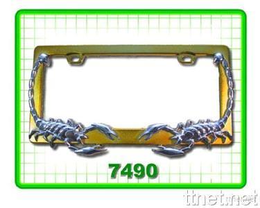 Scorpion License Frame