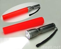 Lampe-torche en aluminium de bâton de LED