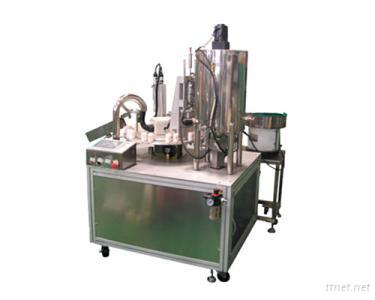 2-nozzle Auto Liquid Filling, Plugging and Capping Machine