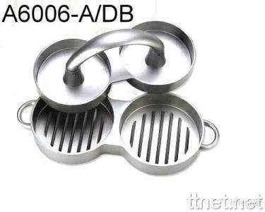 N/S Aluminium Double Burger Press