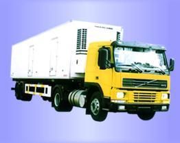 Isoliergekühlter LKW Vantruck Body