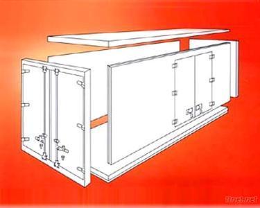 Insulated Panel Sandwich Panel Truck Body Panel