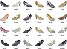 Mythique Women's Tango Ballroom Dance Shoes - Nadia Photo