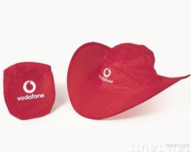 Pop Up Nylon Foldable Hat