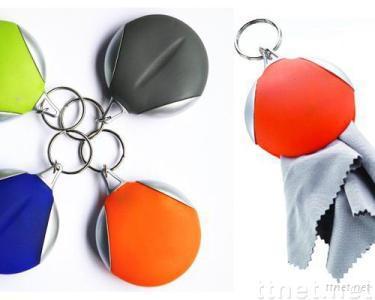 Keychain Eyeglass Cleaning Microfiber Cloth