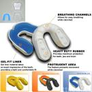 2-LAYERS MOUTH GUARD (SINGLE), CE approved