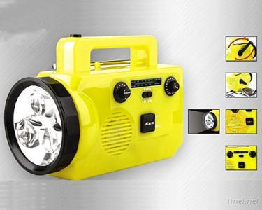 Multi-functional Light Emergency Lantern/FM, AM Radio/Mobile Phone Charger