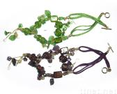 Necklace w/ Assorted Glass Beads