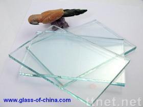 明確なフロートガラス