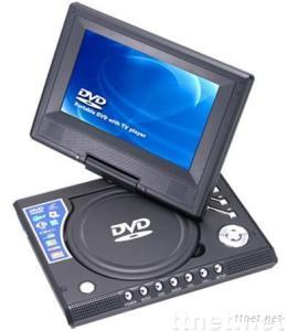 7' Rotatable Portable DVD Palyer & Analog TV &GAME & USB