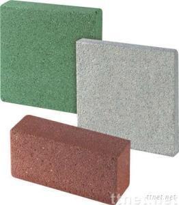 Green Building Material (Water Permeable Bricks)