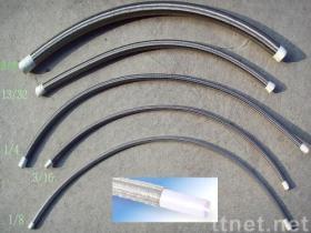 Tubo flessibile di PTFE ss nei formati differenti