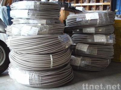 PTFE (Teflon) hose with S.S.-braided