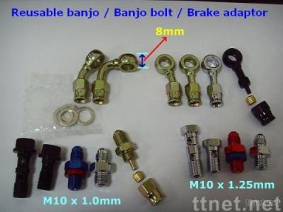 Reusable BANJOs & Adapters